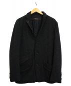 sage de cret(サージュ デクレ)の古着「リネン混ジャケット」|グレー