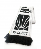 PACCBET by Gosha Rubchinskiy(ラスベート バイ ゴーシャラブチンスキー)の古着「マフラー」 ブラック