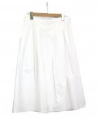 Modify(モディファイ)の古着「ミモレ丈スカート」|ホワイト