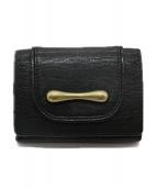 TOFF&LOADSTONE(トフ&ロードストーン)の古着「3つ折り財布」|ブラック