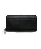 COACH(コーチ)の古着「ランドファスナー長財布」|ブラック