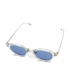 SOPH.×金子眼鏡(ソフ×カネコメガネ)の古着「サングラス」|シルバー
