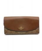 COACH(コーチ)の古着「長財布」|ブラウン