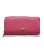 Samantha Thavasa PETIT CHOICE(サマンサタバサプチチョイス)の古着「長財布」|ショッキングピンク
