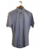 BROOKS BROTHERS(ブルックスブラザーズ)の古着「半袖BDシャツ」|ブルー