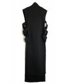 Y-3(ワイスリ)の古着「スペーサーチュニックドレス」|ブラック