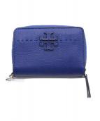 TORY BURCH(トリーバーチ)の古着「2つ折り財布」|ブルー