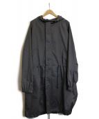 TOMORROW LAND(トゥモローランド)の古着「ナイロンフーデットコート」|グレー