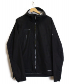MAMMUT(マムート)の古着「エアロスピードジャケット」 ブラック