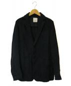 nest Robe(ネストローブ)の古着「リネンジャケット」|ブラック