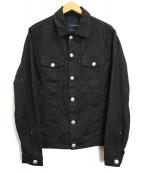 JACOB COHEN(ヤコブコーエン)の古着「デニムジャケット」 ブラック