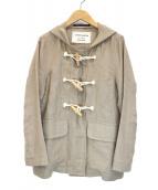 LONDON Tradition par Nimes(ロンドントラディションパーニーム)の古着「リネンフーデットジャケット」|ベージュ
