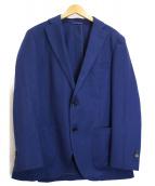 THE SUIT COMPANY(ザスーツカンパニ)の古着「ライトアンコンジャケット」|ネイビー