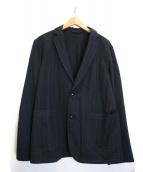UNITED ARROWS(ユナイテッドアローズ)の古着「USCMストライプ2Bジャケット」|ネイビー