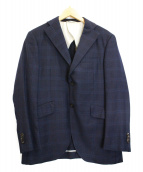 UNIVERSAL LANGUAGE(ユニバーサルランゲージ)の古着「テーラードジャケット」|ネイビー