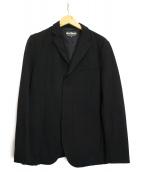 WILD THINGS(ワイルドシングス)の古着「4WAYストレッチテーラードジャケット」|ブラック