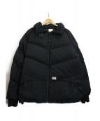WTAPS(ダブルタップス)の古着「ダウンジャケット」|ブラック