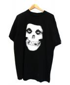 BOUNTY HUNTER(バウンティーハンタ)の古着「ミスフィッツTシャツ」|ブラック