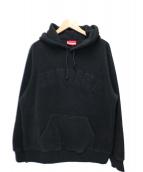Supreme(シュプリーム)の古着「ポーラーテックフーデットスウェットシャツ」|ブラック