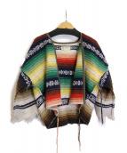 77circa(ナナナナサーカ)の古着「メキシカンラグジャケット」|マルチカラー