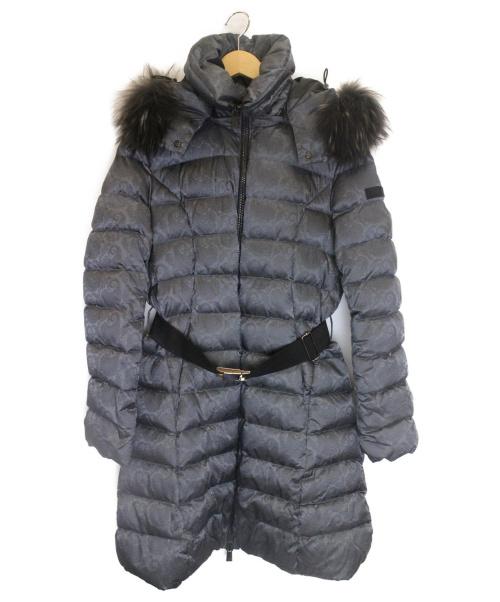 TATRAS(タトラス)TATRAS (タトラス) ハイドペイズリーダウンコート グレー サイズ:4 参考定価¥130.000程度の古着・服飾アイテム