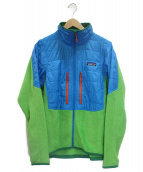 Patagonia(パタゴニア)の古着「ナノパフハイブリットジャケット」|グリーン