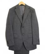 azabu tailor(アザブテーラー)の古着「3Pセットアップスーツ」 グレー
