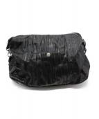 HERGOPOCH(エルゴポック)の古着「レザーショルダーバッグ」|ブラック
