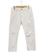 orSlow(オアスロウ)の古着「デニムテーパードパンツ」|ホワイト