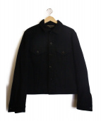 COMME des GARCONS HommePlus(コムデギャルソンオムプリュス)の古着「ウールジャケット」 ブラック