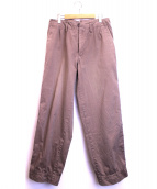 KOLOR(カラー)の古着「ワークパンツ」|ベージュ
