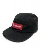 Supreme(シュプリーム)の古着「ナイロンキャンプキャップカモ」|カーキ