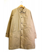 BEAMS(ビームス)の古着「ダウンライナー付ステンカラーコート」 ベージュ