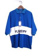 FLAGSTUFF(フラッグスタッフ)の古着「BY別注ポロシャツ」|ライトブルー