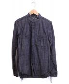 Rags McGREGOR(ラグスマックレガー)の古着「ダンガリーシャツ」|ブラック