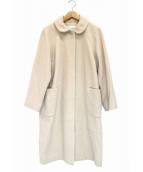 bulle de savon(ビュルデサボン)の古着「ウール混ステンコート」|ベージュ