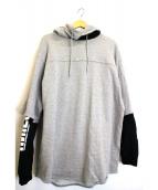 uniform experiment(ユニフォームエクスペリメント)の古着「レイヤードパーカー」|グレー