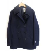 ORCIVAL(オーシバル)の古着「ニュージーロンラムメルトンコート」|ネイビー