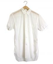 COMME des GARCONS SHIRT(コムデギャルソンシャツ)の古着「半袖メッシュシャツ」|ホワイト