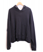 KAIKO(カイコー)の古着「プルオーバーパーカー」|ブラック