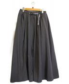 GRAMICCI×BEMAS BOY(グラミチ×ビームスボーイ)の古着「クライミングロングスカート」|グレー