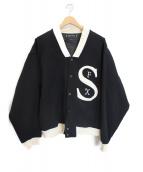 SASQUATCHfabrix.(サスクワッチ ファブリック)の古着「ロゴブルゾン」 ブラック