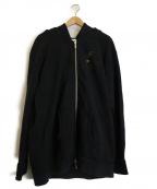 RHUDE(ルード)の古着「ジップアップパーカー」|ブラック