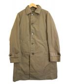 UNITED ARROWS TOKYO(ユナイテッドアローズトウキョウ)の古着「ライナー付ステンカラーコート」 ベージュ