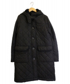 Traditional Weatherwear(トラディショナル ウェザーウェア)の古着「裏ボアキルティングコート」|ブラック