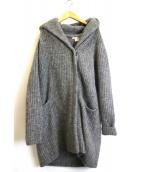 MARILYN MOON(マリリンムーン)の古着「ニットコート」|グレー