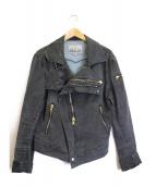 Vivienne Westwood man(ヴィヴィアンウエストウッドマン)の古着「パイレーツライダースジャケット」|ブラック