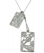 Vivienne Westwood accessories(ヴィヴィアン ウエストウッド アクセサリー)の古着「アーミータグネックレス」