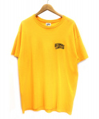 BILLIONAIRE BOYS CLUB(ビリオネアボーイズクラブ)の古着「プリントTシャツ」|イエロー