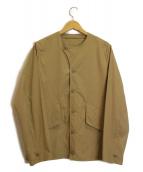 HELLY HANSEN(ヘリーハンセン)の古着「ネイバルワークブルゾン」|ベージュ